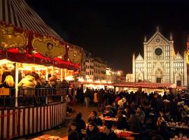 Mercatino di natale di Santa Croce, Firenze