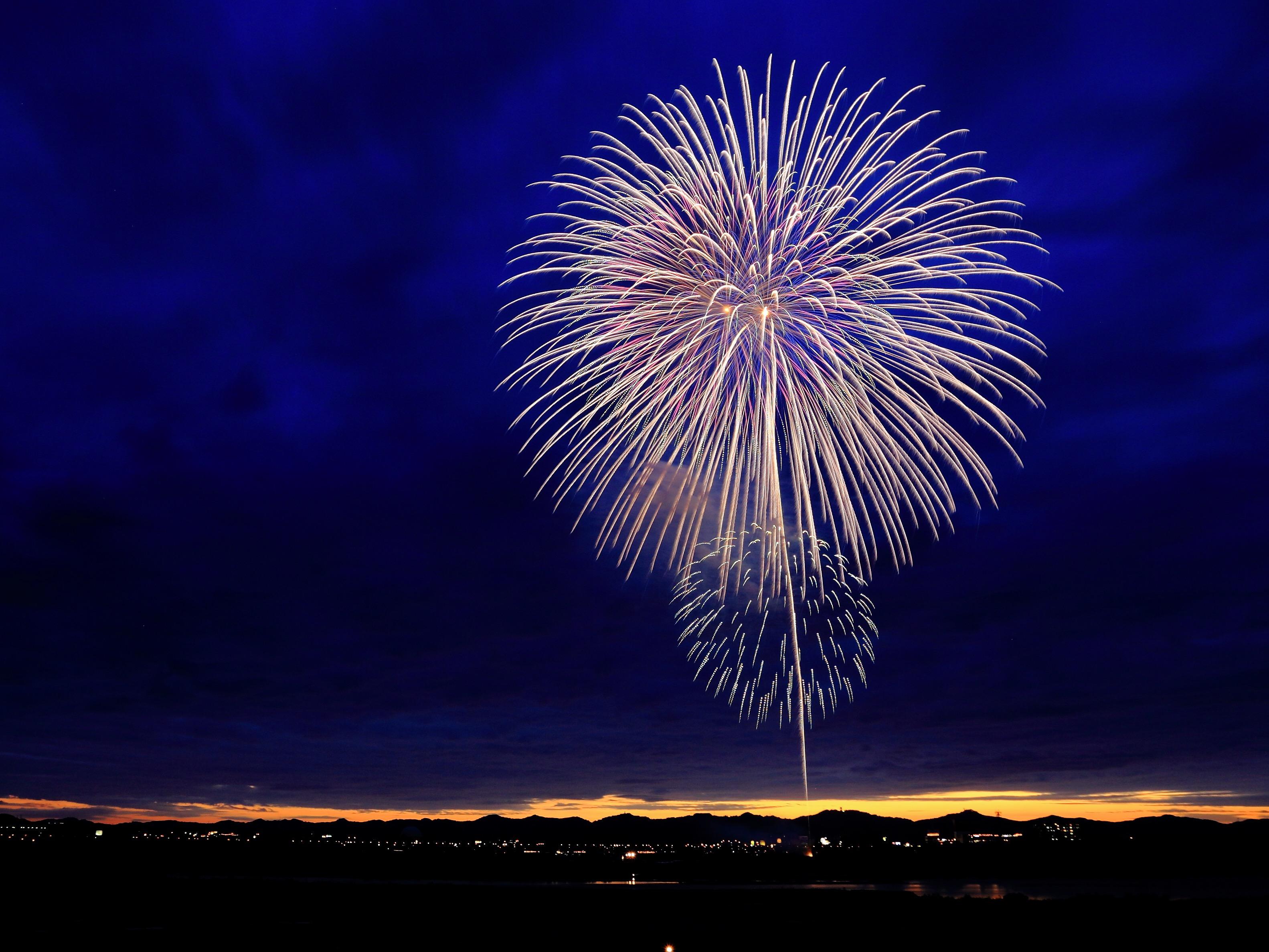 I fuochi d'artificio di Capodanno