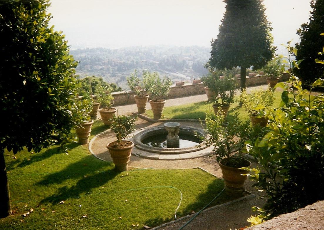 Giardino di Villa Medici a Fiesole