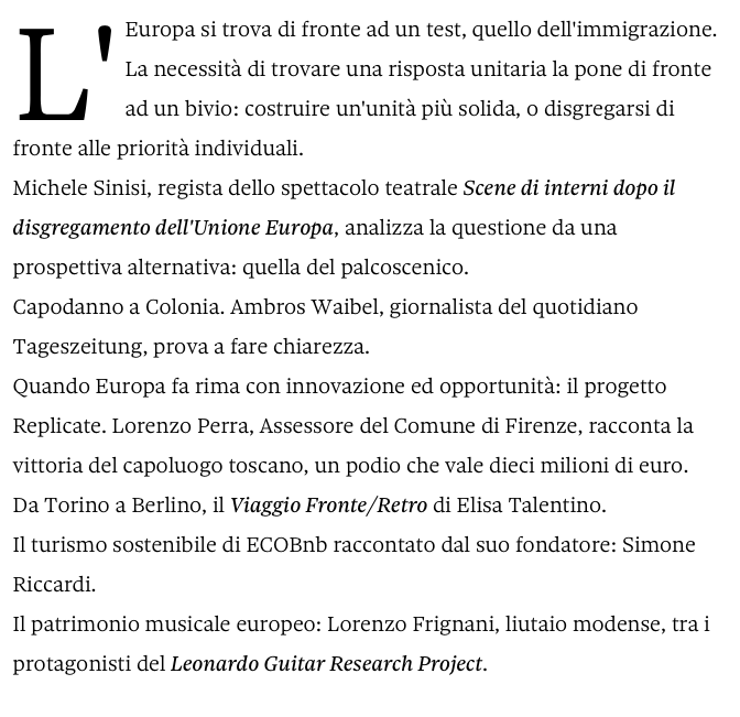 Radio 24 ha intervisto Ecobnb
