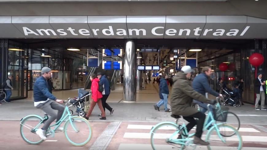Nuovo tunnel per le bici di Amsterdam