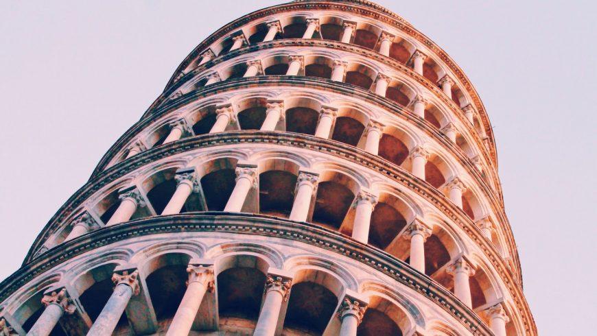 Torre di Pisa, opera da arte vicina al bnb La Fanciullaccia