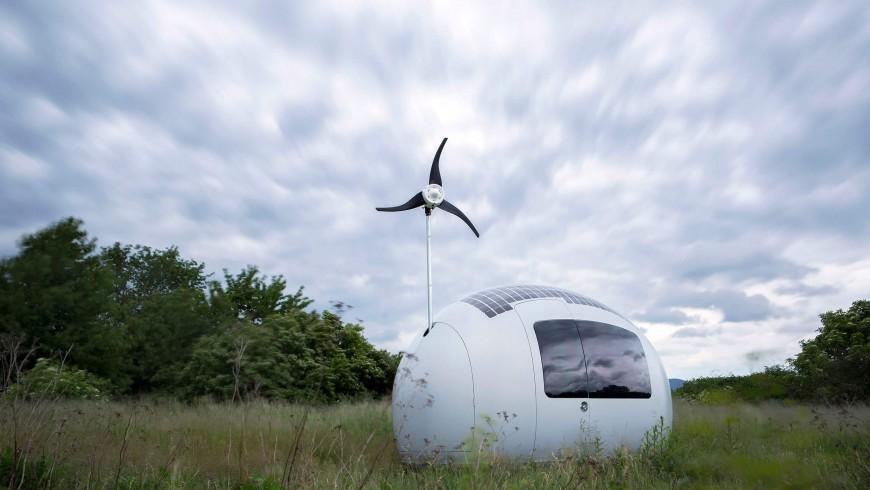 ecocapsula, una nuova mini casa completamente autonoma