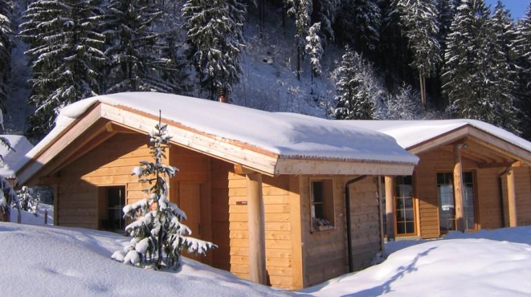 Baita di Hüttenhotel Husky Lodge