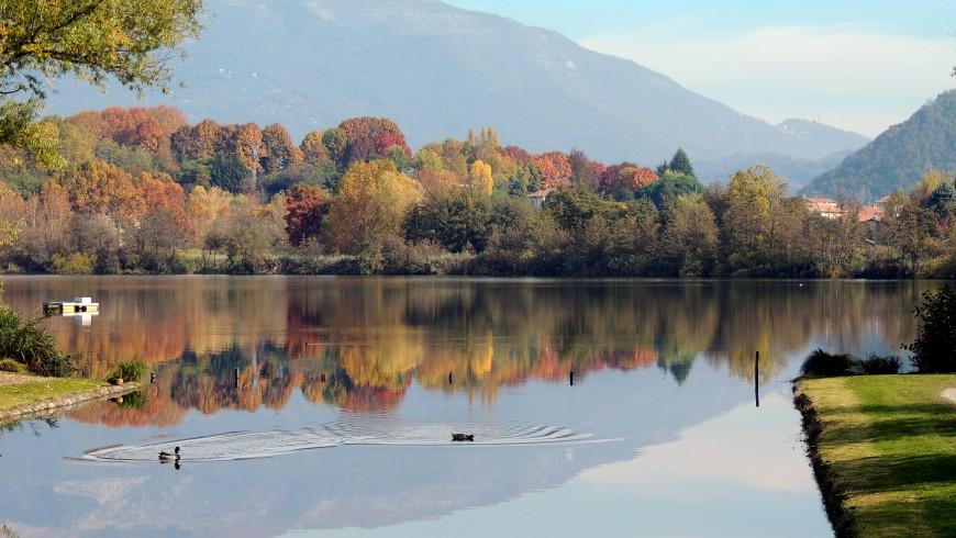 Lago di Sartirana, perfetto per una vacanza a cavallo