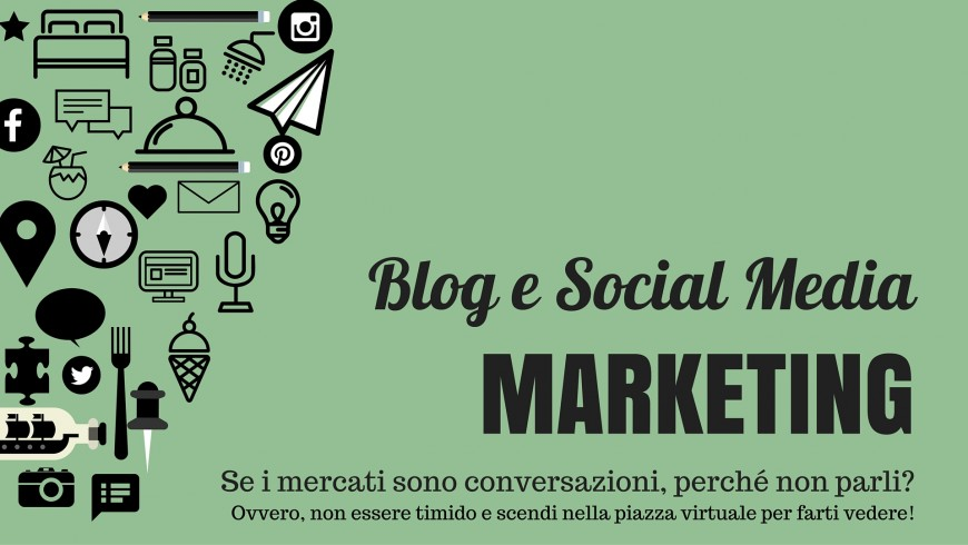 Blog e Social Media marketing
