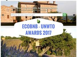 Ecobnb, premiato agli UNWTO Awards mondiali per l'innovazione nel turismo