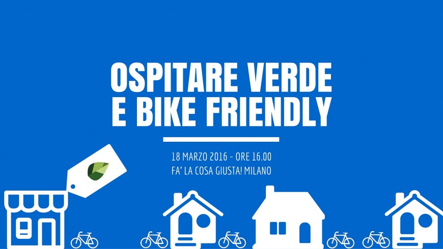 Evento: Ospitare Verde e Bike Friendly