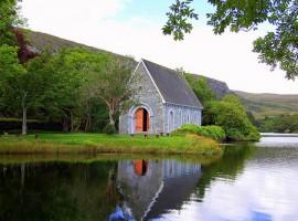La chiesetta più bella d'Irlanda nel Gougane Barra Forest Park