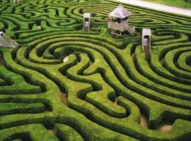 labirinti verdi in Francia
