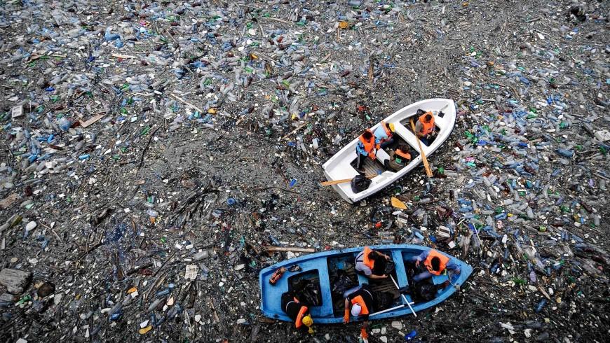 La plastica nei nostri oceani