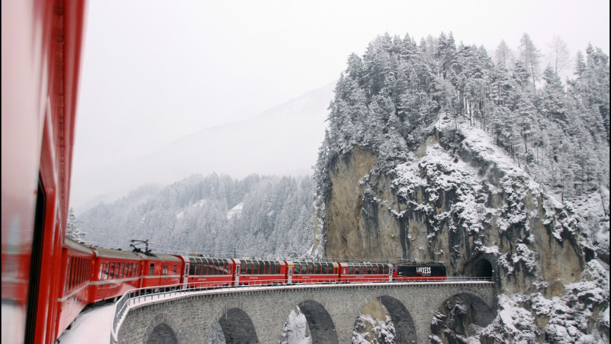 Glacier express, uno dei viaggi in treno più belli d'Europa