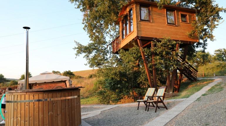 casa sull'albero, vacanza in fattoria in toscana