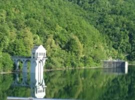 Lago di Trebecco e diga
