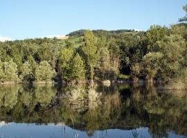 Lago di Trebecco e diga del Molato