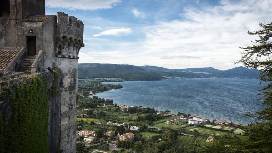 Lago di Bracciano e il suo castello