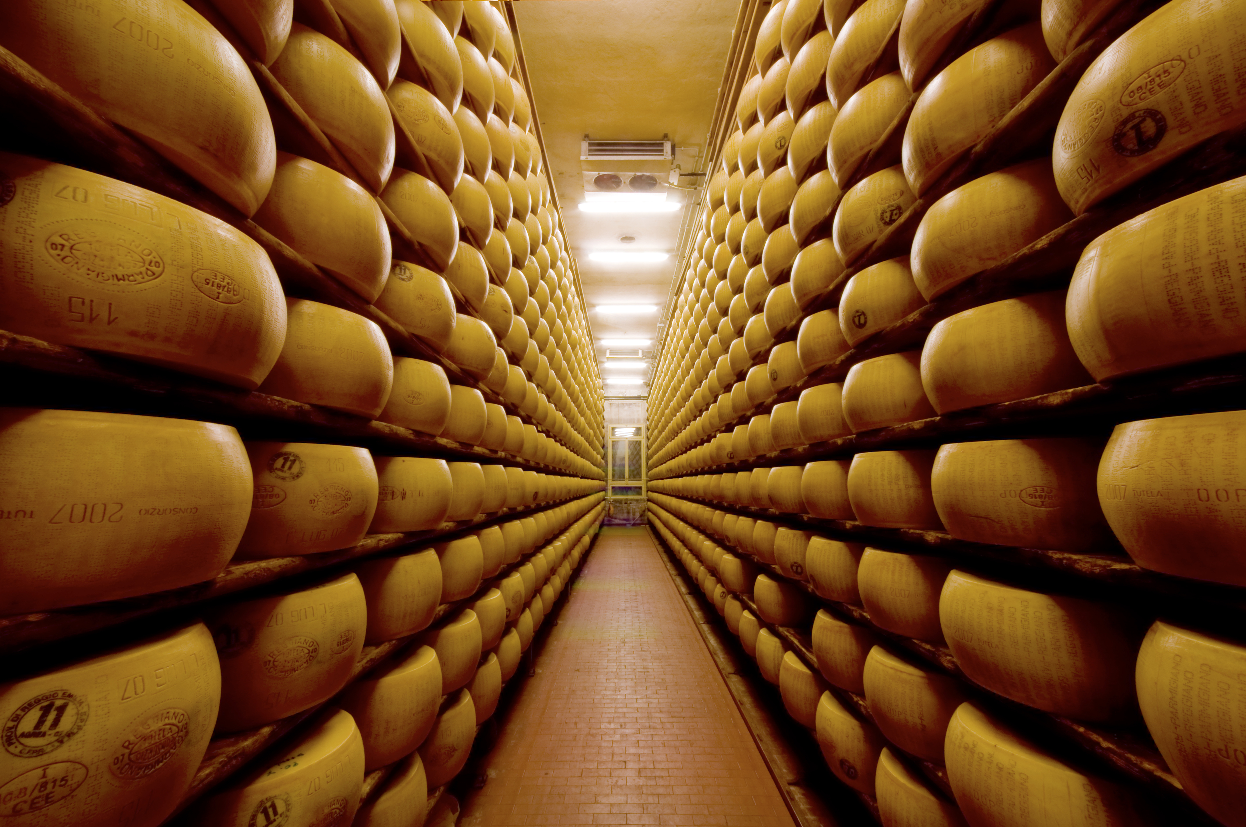 parmigiano reggiano, il formaggio di Parma