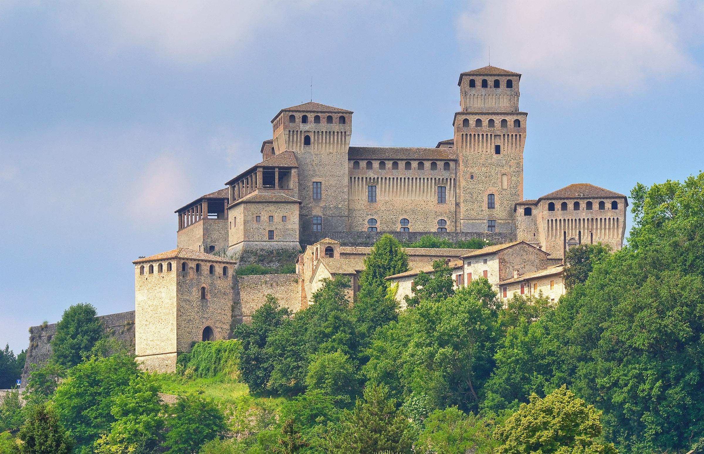 Castello di Torrechiara, Parma, Emilia Romagna