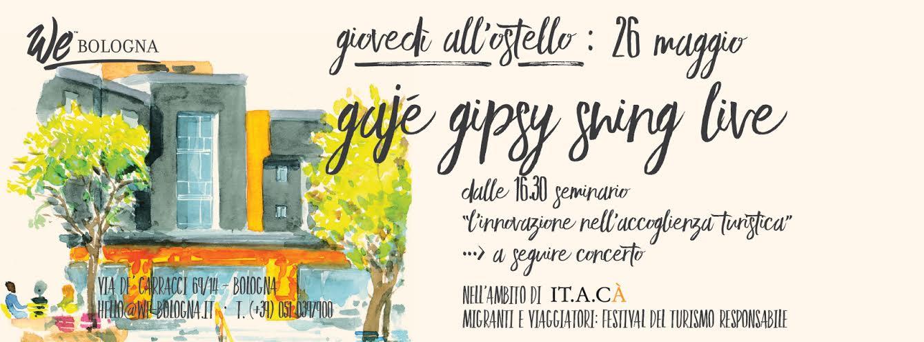 Giovedì 26 maggio Bologna