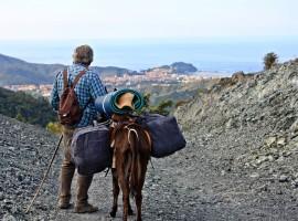 itinerario lento con gli asini dall'appennino al mare