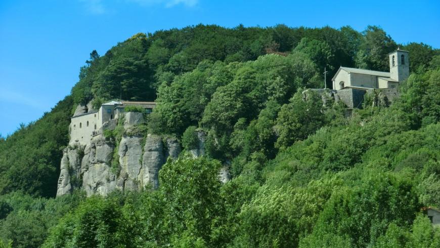 Santuario La Verna, destinazione di uno dei cammini spirituali d'Italia