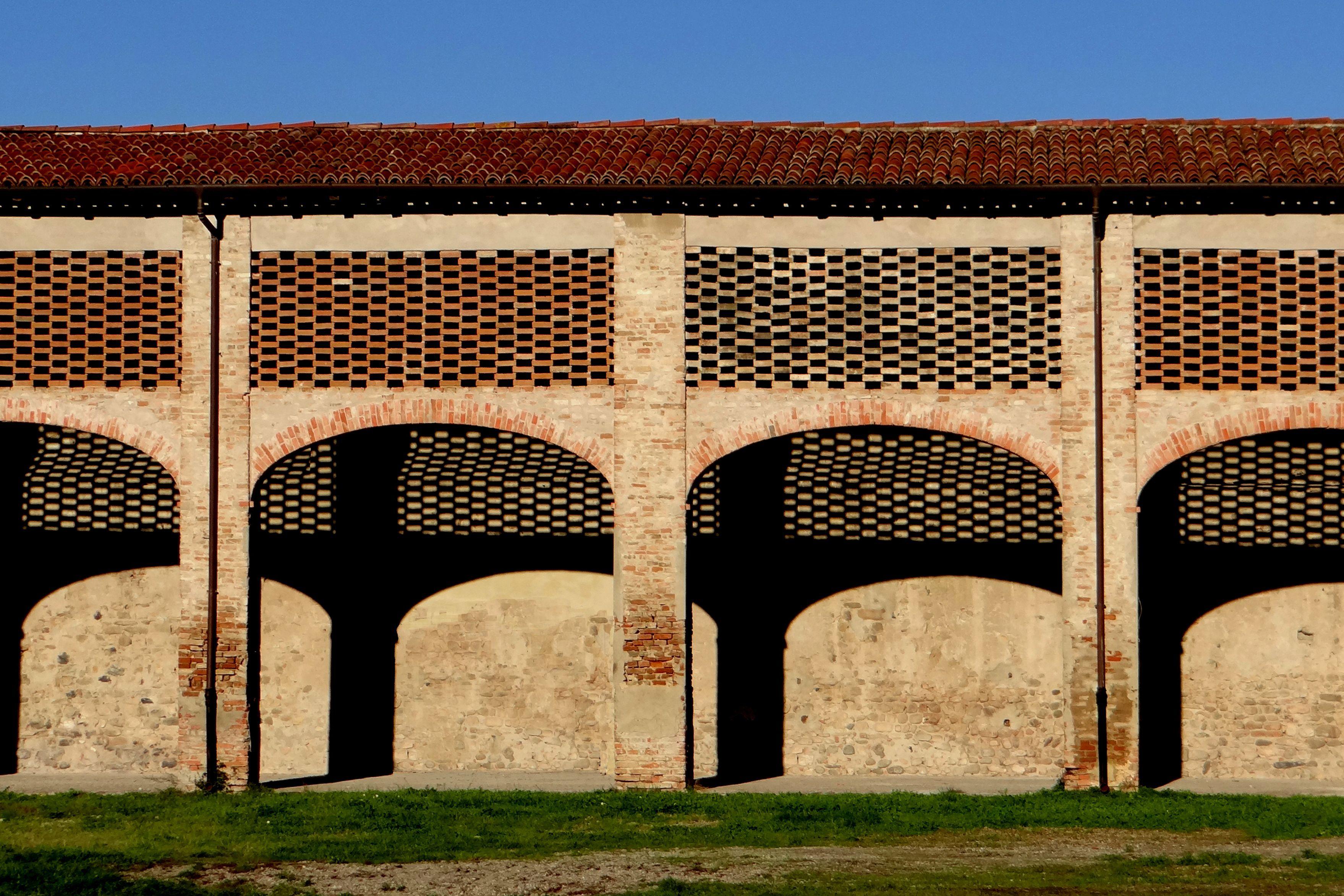 Parco del Taro, Parma, Portico con Gelosia,