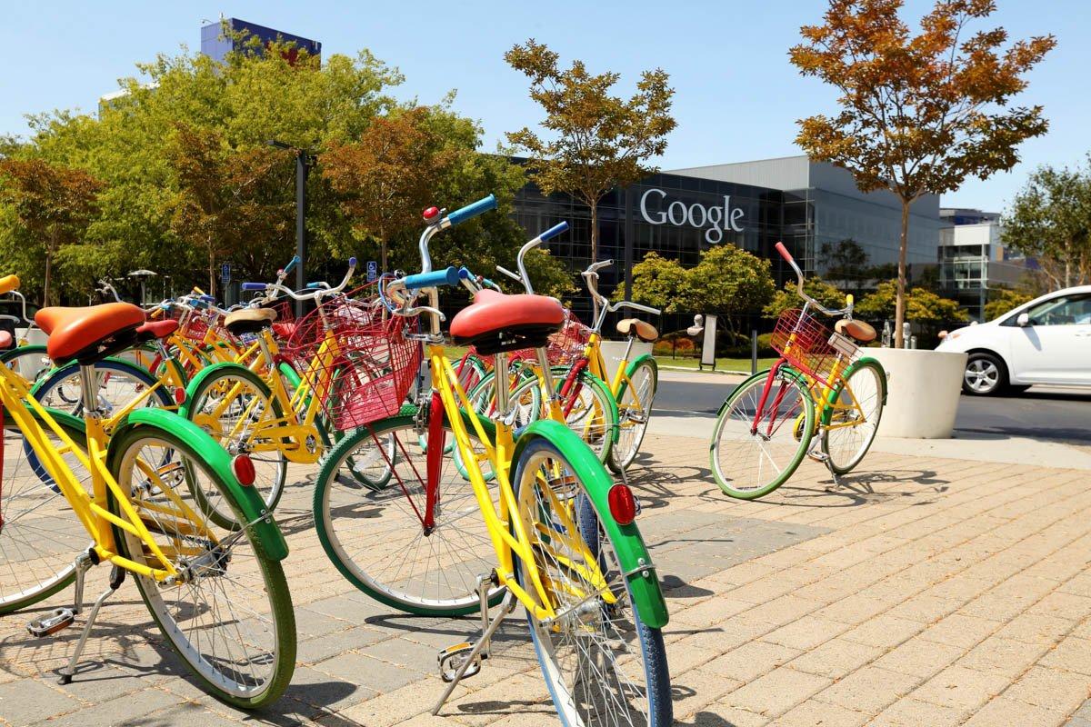 biciclette nell'azienda google