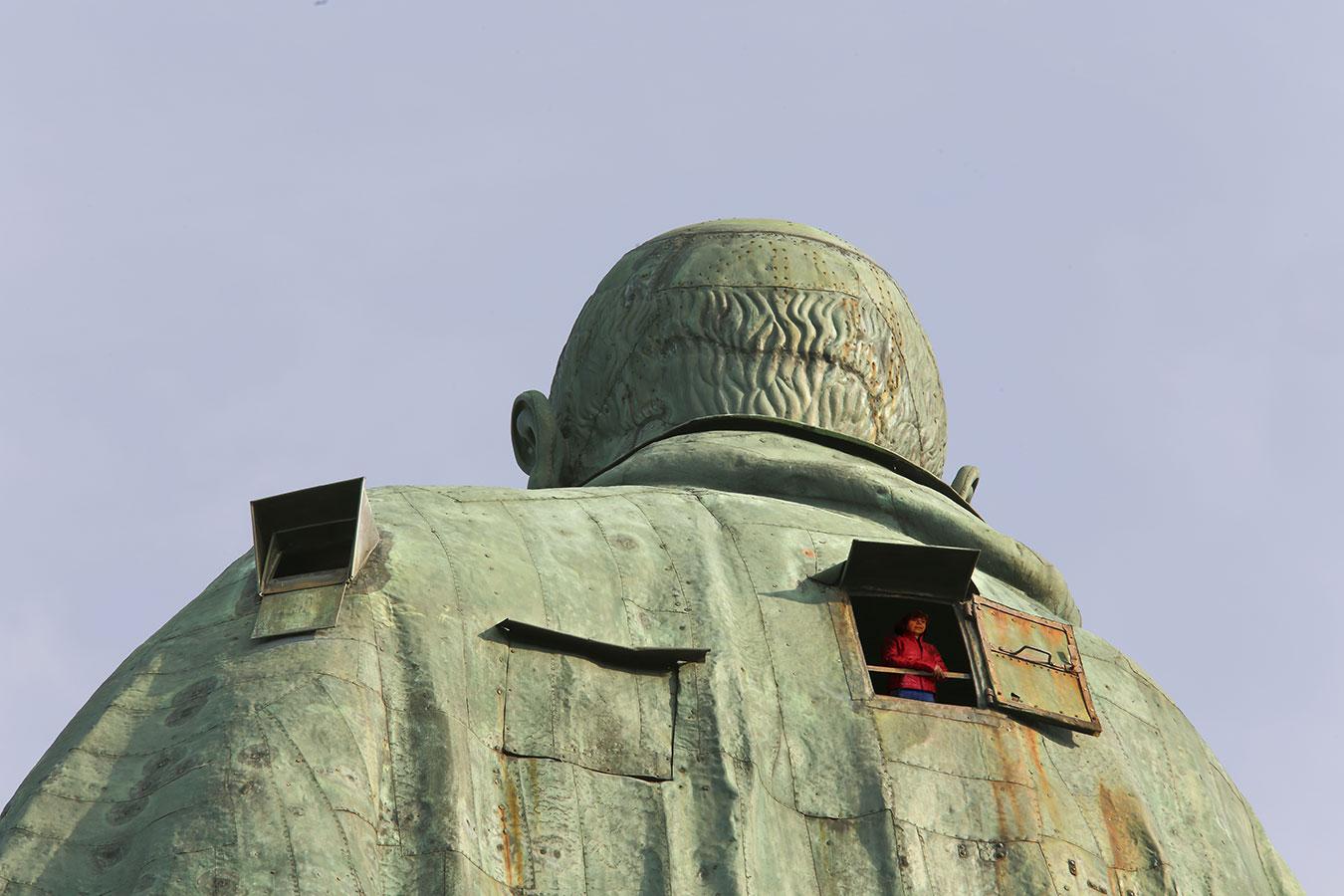 La Statua di San Carlone, Lago Maggiore, Verbania