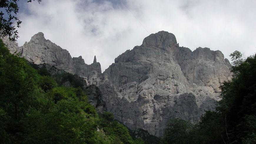 Panorama delle Dolomiti Bellunesi, da scoprire con il nostro bellissimo itinerario