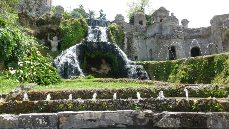 I meravigliosi giardini di Villa d'Este