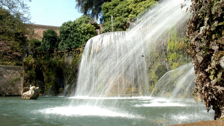 I meravigliosi giardini di Villa d'EsteI meravigliosi giardini di Villa d'Este