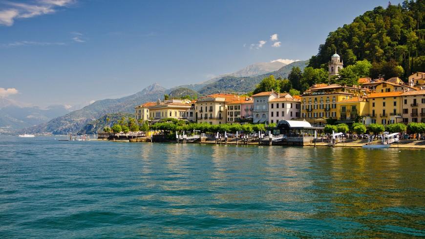 L'italianissimo lago di Como è uno dei laghi più belli d'Europa