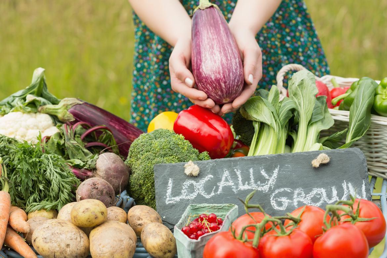Verdure fresche e a km zero al farmer's market