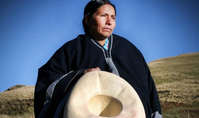 Máxima Acuña, vincitrice del oldman Environmental Prize in 2016