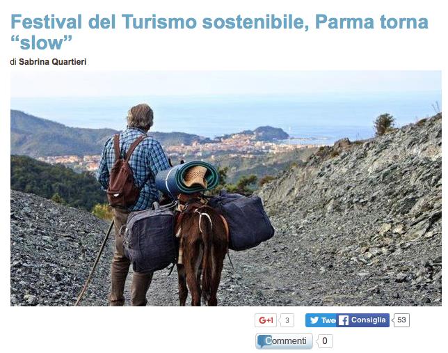 Il Messaggero dedica un altro articolo ad Ecobnb, la community del turismo sostenibile