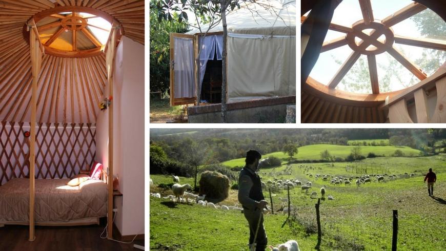 Alloggi insoliti: una yurta in maremma