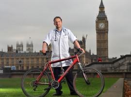 Steve Fabes atttraverso 6 continenti in bicicletta