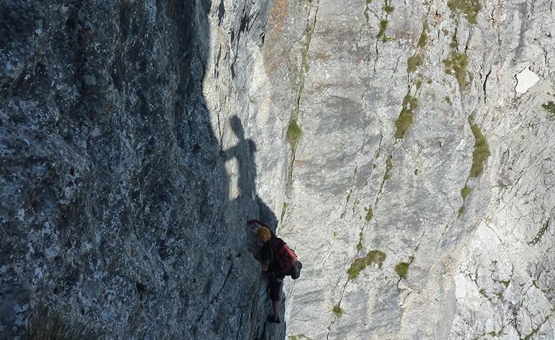 tra le chiare rocce del gran sasso
