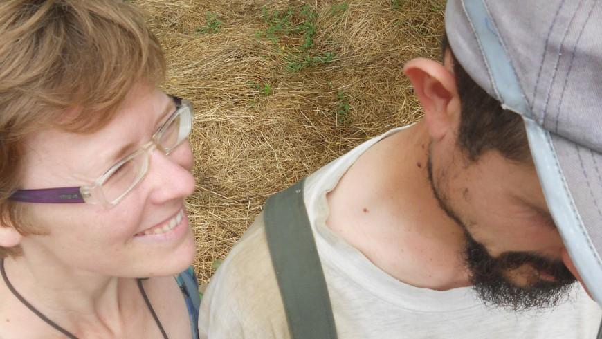 Arianna e Alessandro, giovani che tornano all'agricoltura