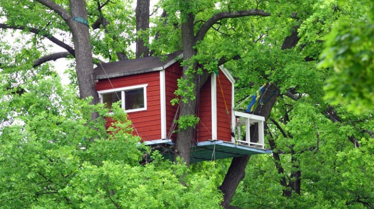 Hotels Hackspett, case sugli alberi in Svezia
