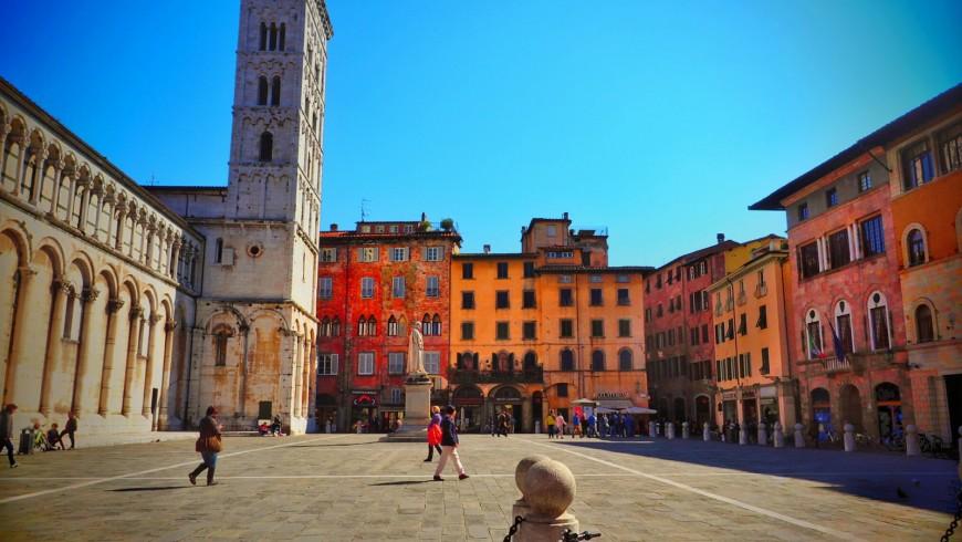 Lucca in bicicletta