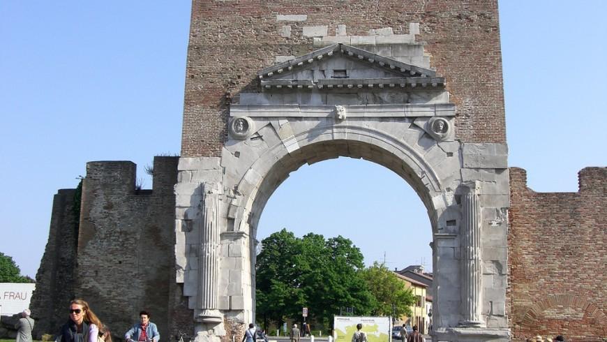 L'arco di Augusto di Rimini