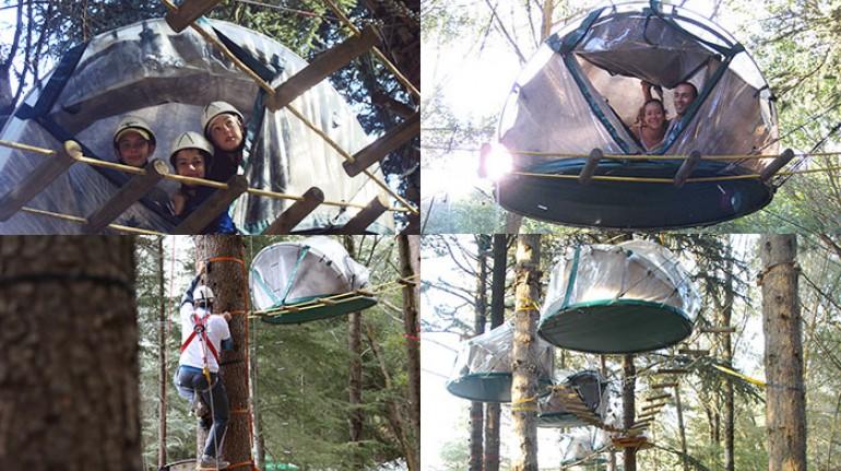 Parco Avventura nelle Madonie, case sugli alberi in Italia