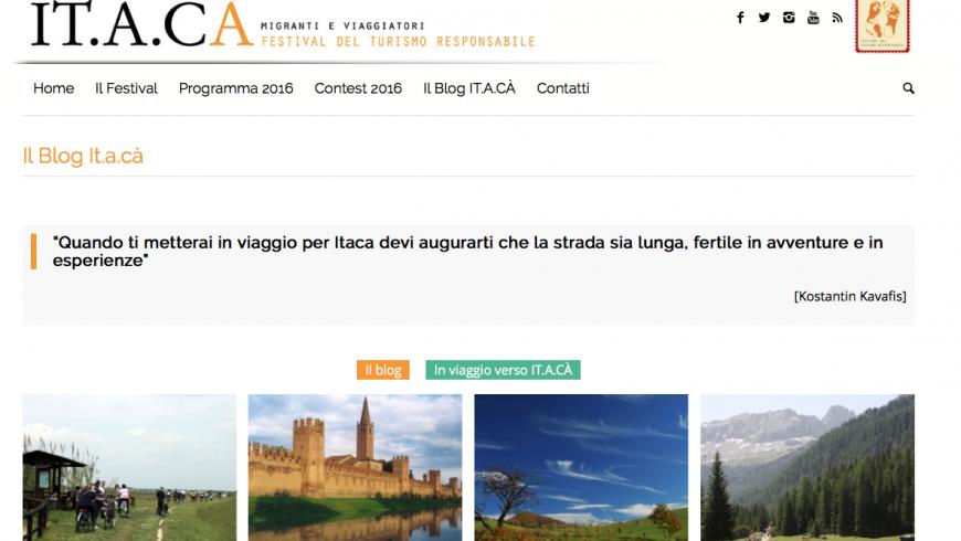 Il Blog di IT.A.CA', migranti e viaggiatori, Festival del Turismo Responsabile