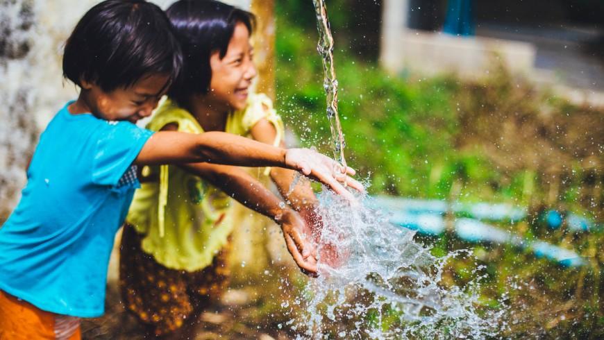 l'acqua ci rende felici