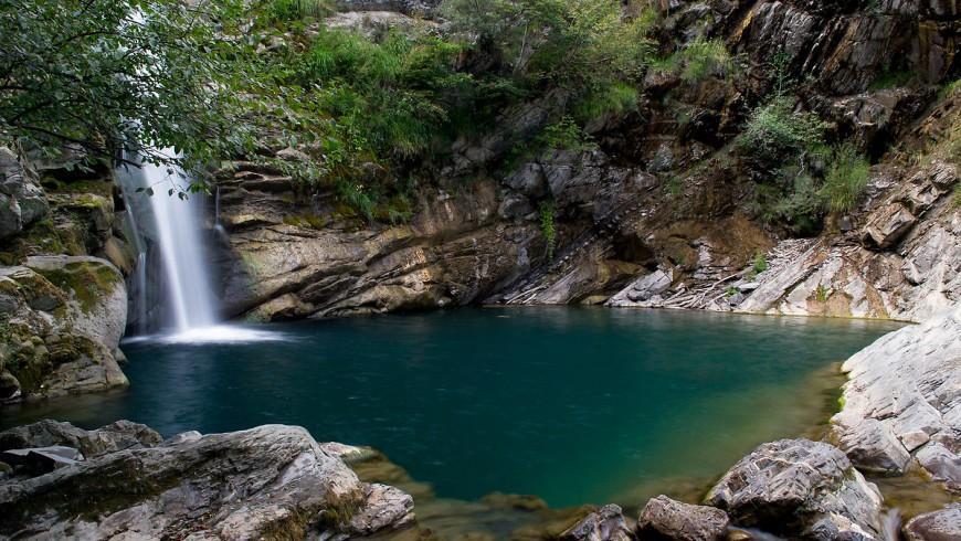 Cascate del Gonfalone, piscina naturale dell'Emilia Romagna