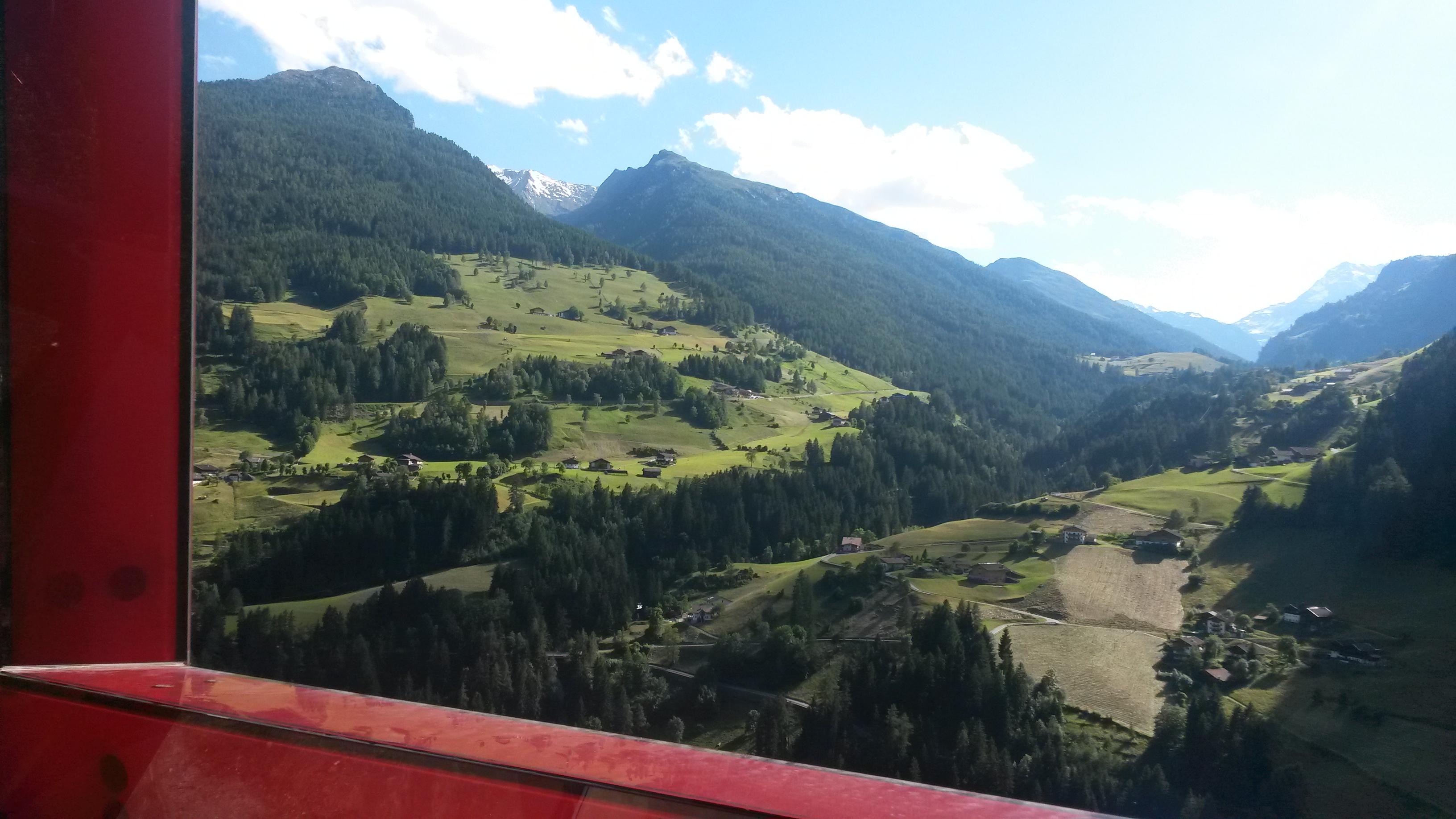 Val Passiria, punto Panoramico