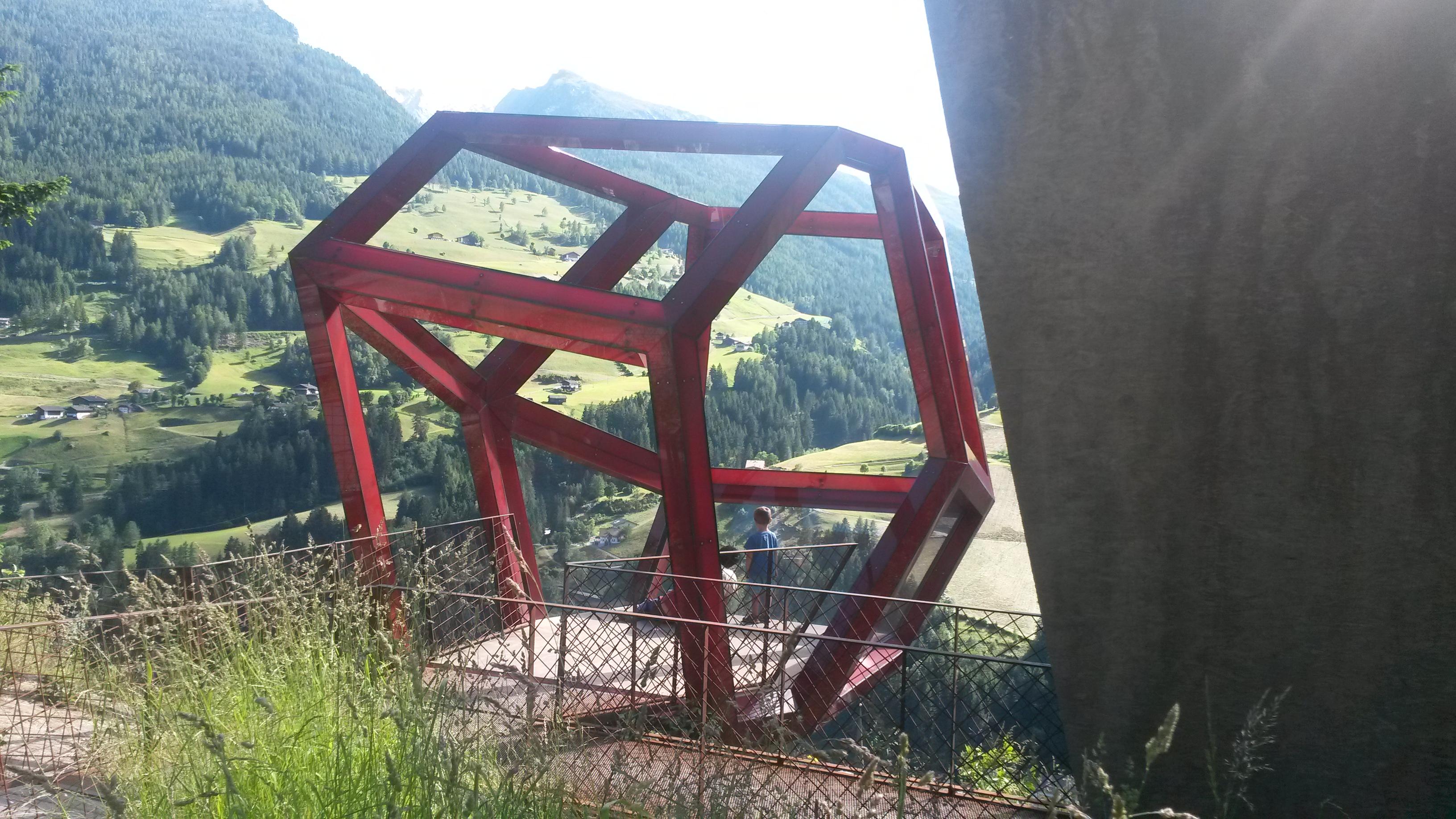 Val Passiria, Passo Rombo, punto panoramico