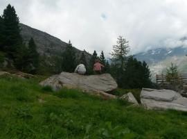 labirinto di roccia in val passiria