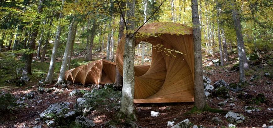 Arte Sella propone il percorso ArteNatura. A Borgo Valsugana l'arte s intreccia con la natura